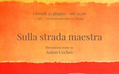 Spettacolo teatrale con la regia di Roberto Cajafa:  22 giugno 2017